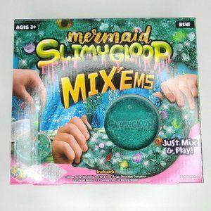 4/$20 Mermaid Slimy Gloop DIY Slime Kit
